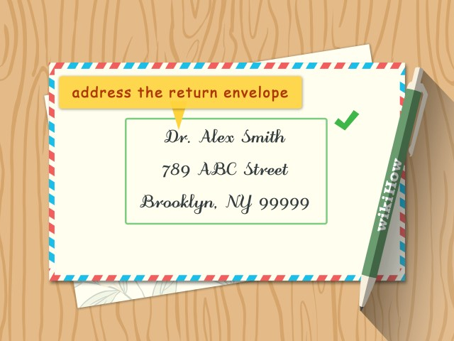 Addressing Wedding Invitations Outer Envelope Only How To Address Wedding Invitations With Pictures Wikihow