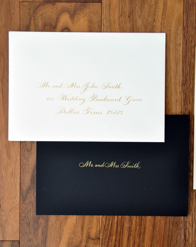 Addressing Wedding Invitations Outer Envelope Only Wedding
