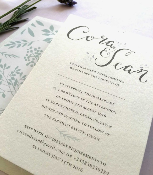 Affordable Letterpress Wedding Invitations Affordable Letterpress Wedding Invitations Unique Calligraphy