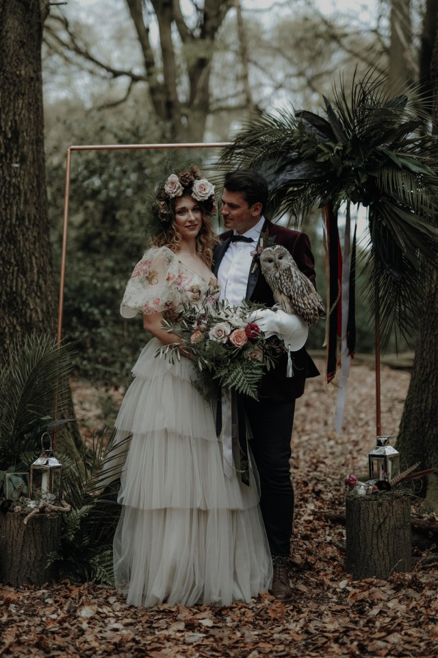 Alternative Wedding Ideas Modern Gothic Wedding Ideas In The Woods Whimsical Wonderland Weddings