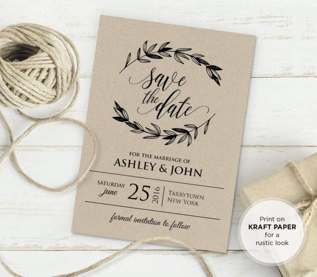 Antique Wedding Invitations Free Rustic Vintage Wedding Invitation Templates Bridal Wedding