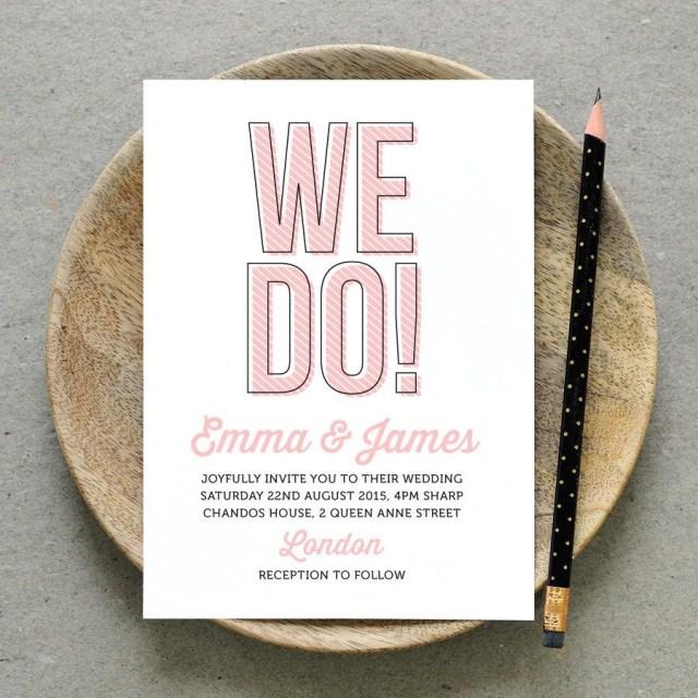 Awesome Wedding Invitations Printable Wedding Invitation Pdf We Do Fun Wedding Invite