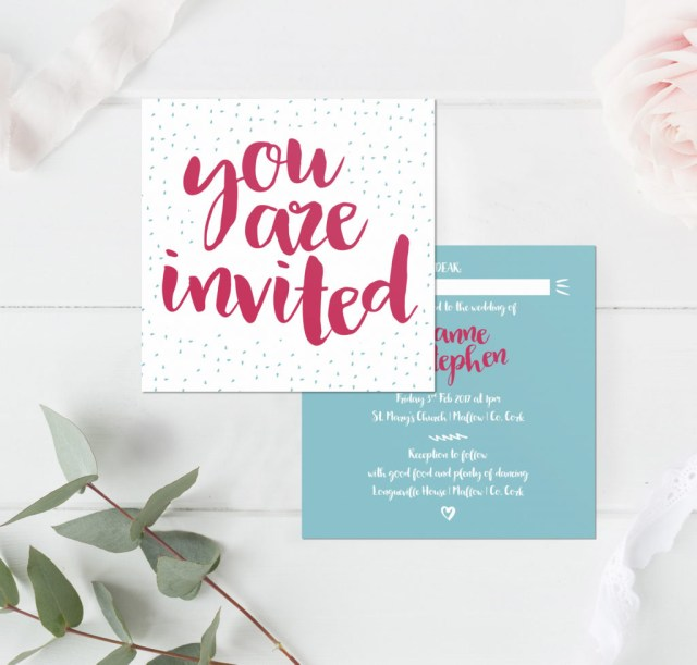 Awesome Wedding Invitations Quite Quirky Wedding Stationery Little Ivory