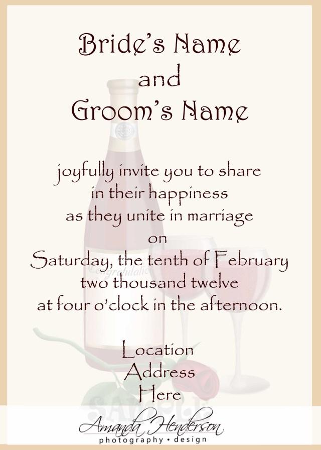 Backyard Wedding Invitation Wording Samples Wedding Invitation Wording Samples 21st Bridal World Wedding