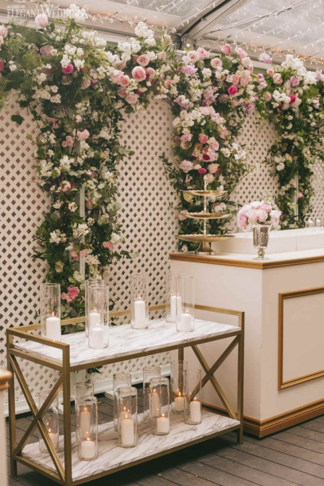 Bar Wedding Decor Stunning Blush Pink Wedding At The Ritz Elegantweddingca