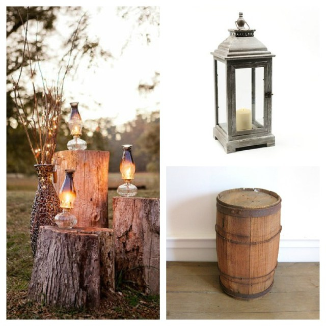 Barrell Wedding Decor Rustic Decor Re Purposed Antique Nail Barrel Habitat Home Blog