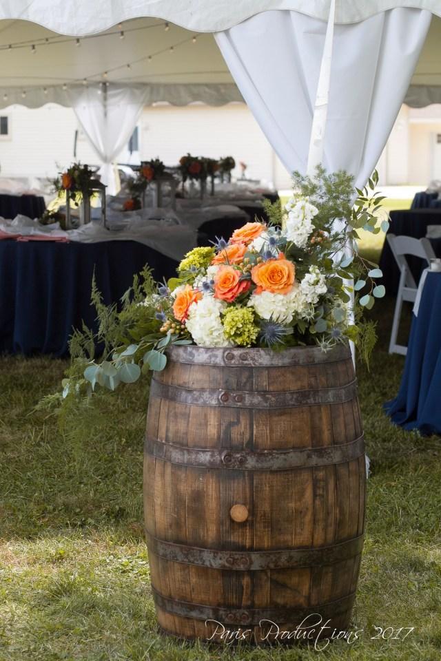 Barrell Wedding Decor Wedding The Lake Designs Ella Rae