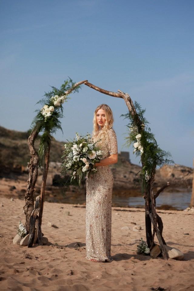 Beach Wedding Ideas Luxe Bohemian Beach Wedding Ideas Whimsical Wonderland Weddings