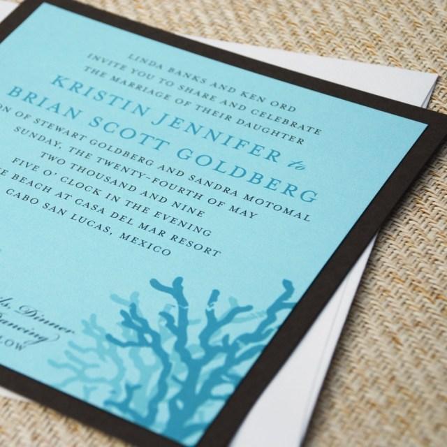 Beach Wedding Invites Beach Wedding Invitations