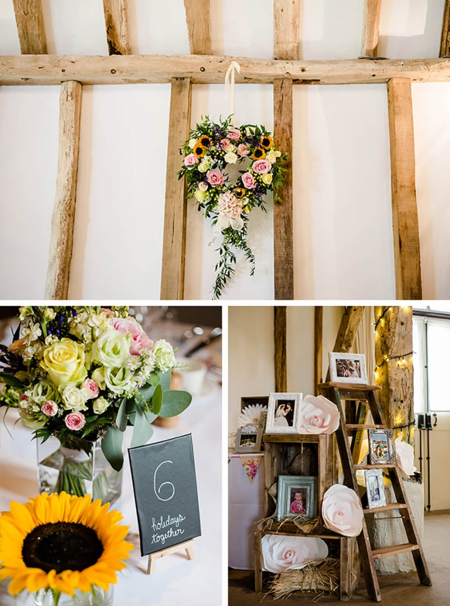 Beautiful Wedding Idea Charlotte And Stuarts Colourful Wedding At Clock Barn Real