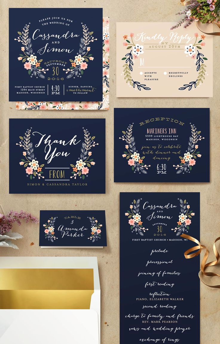 Blue And Silver Wedding Invitations Navy Blue And Silver Wedding Invitations Elegant Wedding Invitations