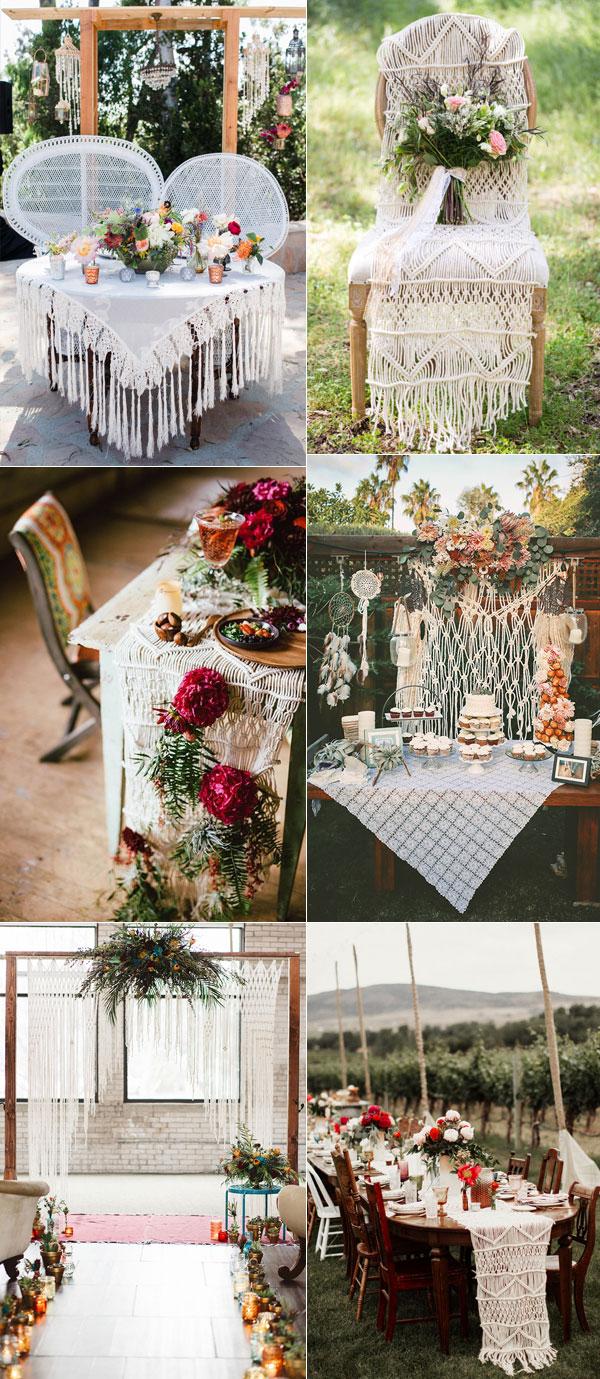 Boho Wedding Decor Tips To Plan Romantic Boho Weddings 2018 Elegantweddinginvites
