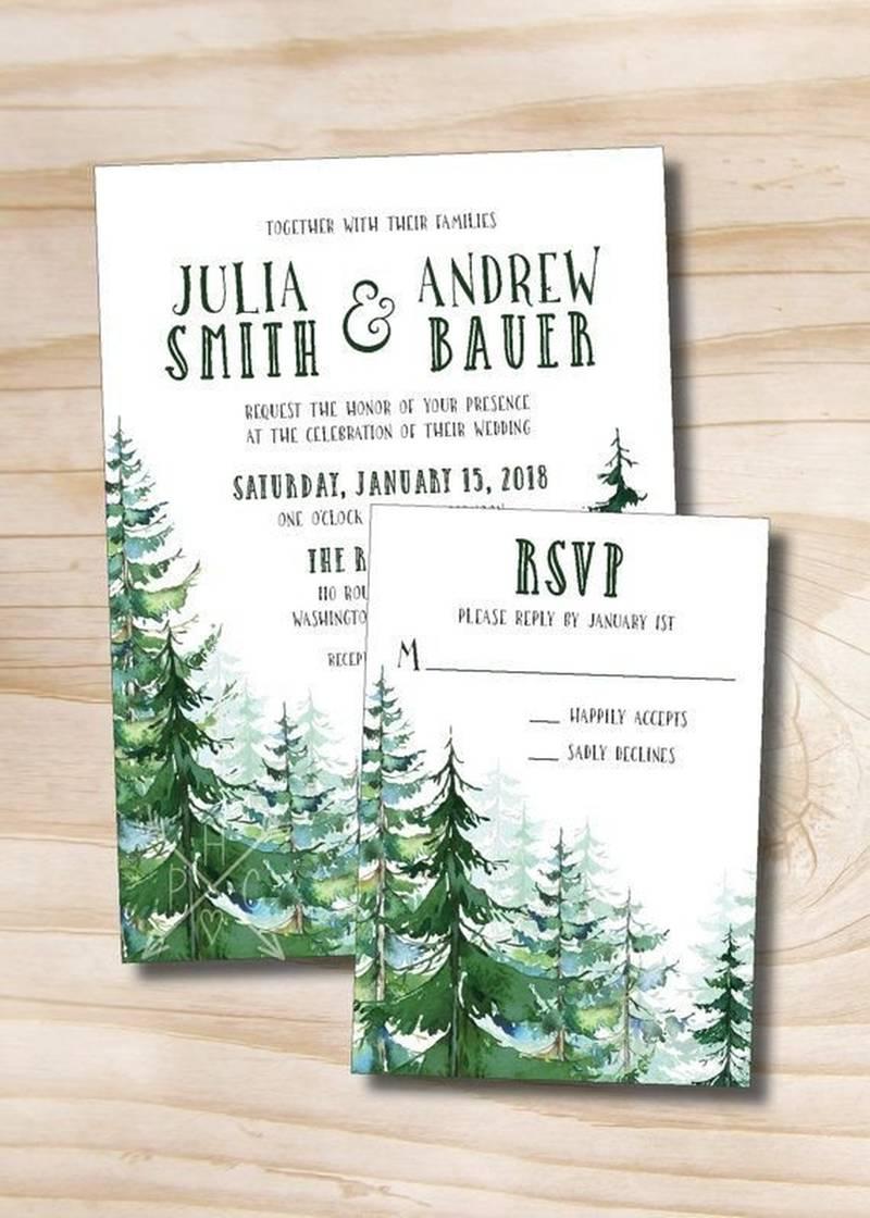Camping Wedding Invitations 206458 Camping Wedding Invitations Adventure Wedding Invites Etsy