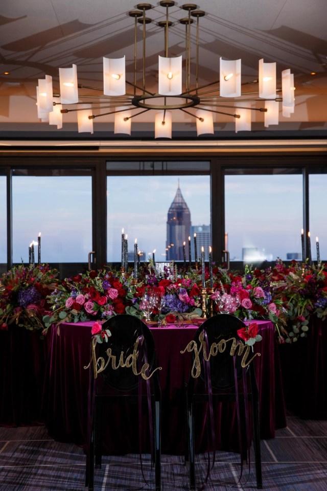 Candlelight Wedding Decor Candlelit Penthouse Wedding Inspiration At The Four Seasons In