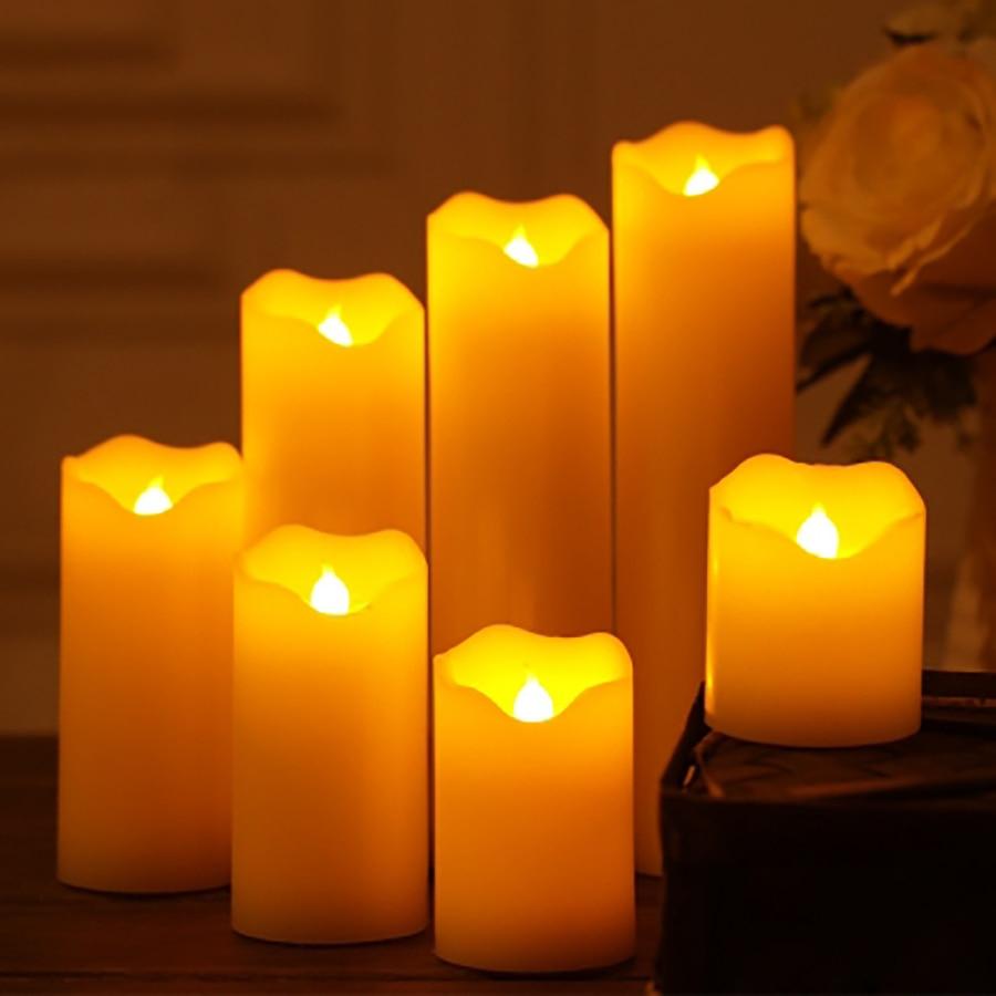 Candlelight Wedding Decor Wedding Decoration Led Candles Candlelight Dinner Bougies Et