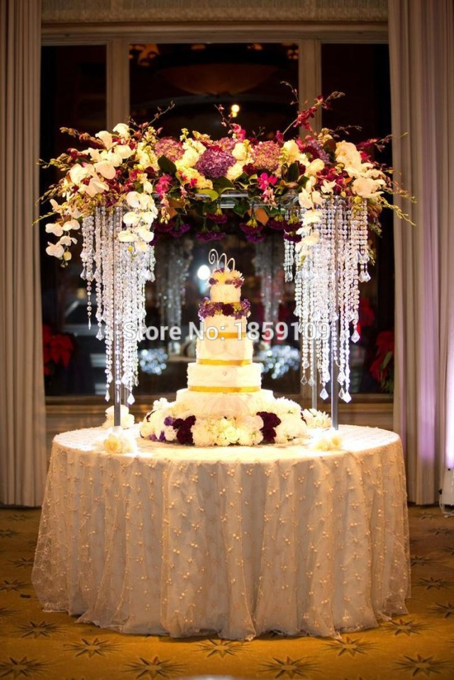 Centerpieces For Wedding 100cm Tall Wedding Table Flower Centerpiece And Flower Stand