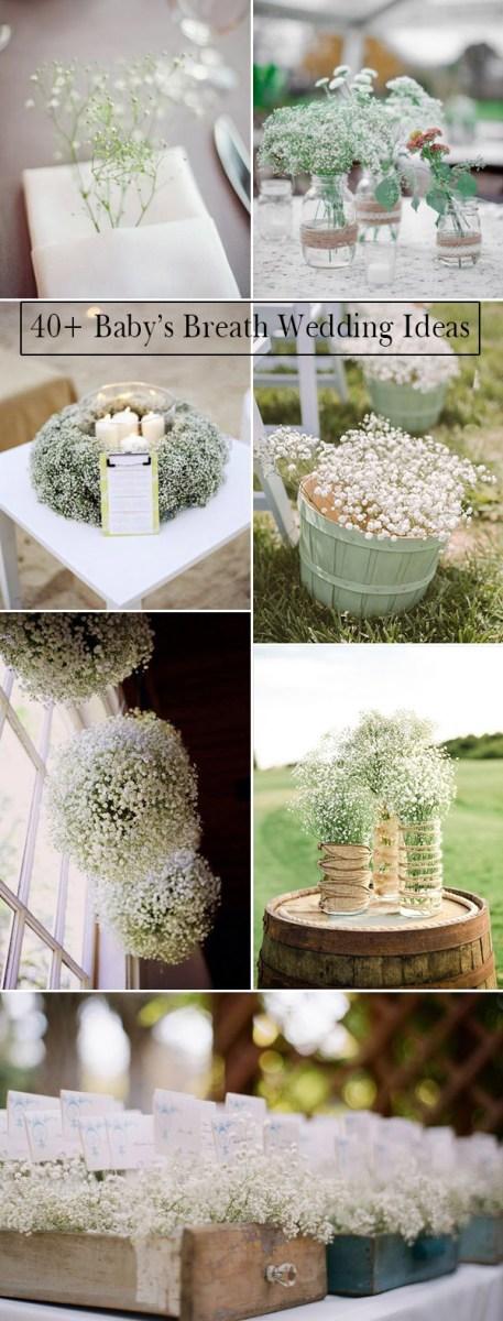 Cheap Wedding Ideas Wedding Flowers 40 Ideas To Use Bas Breath