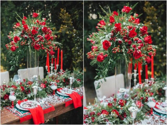 Christmas Wedding Ideas Christmas Wedding Style Shoot Bride Link