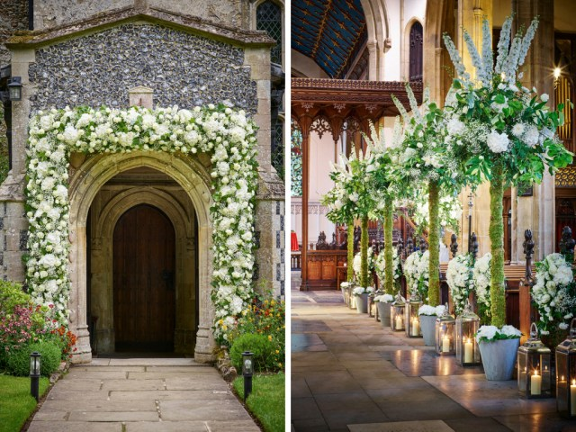 Church Wedding Decoration 10 Ways To Decorate Your Wedding Venue With Flowers