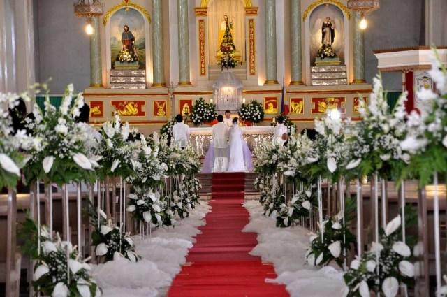 Church Wedding Decoration For Church Blue Wedding Decoration Wedding Decoration