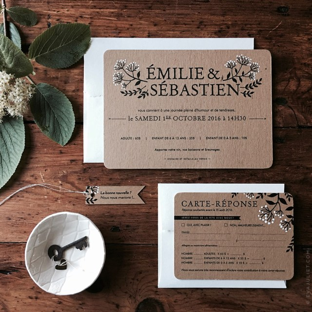 Country Chic Wedding Invitations Evajuliet The Rustic Chic Wedding Invitation