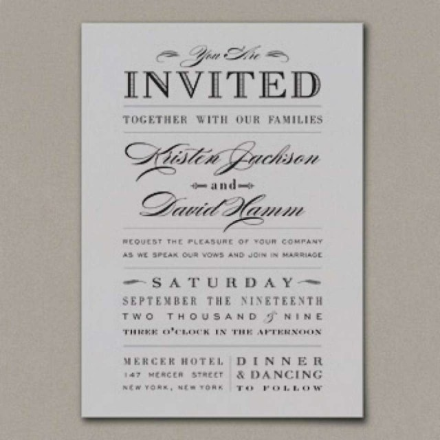 Couple Hosting Wedding Invitation Wording Wedding Invitation Wording Samples Couple Decorfarms