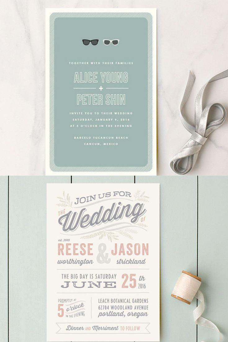 Creative Wedding Invitation Wording Wedding Invitation Wording That Wont Make You Barf Wedding