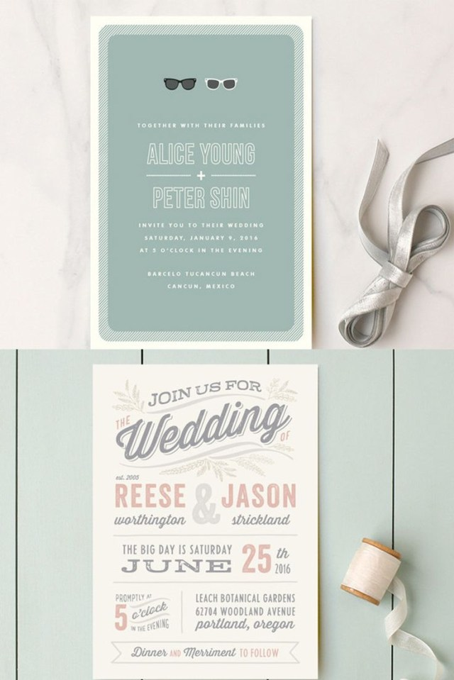 Creative Wedding Invitation Wording Wedding Invitation Wording That Wont Make You Barf Wedding