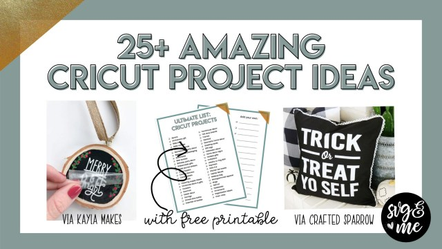 Cricut Wedding Ideas 25 Amazing Cricut Project Ideas To Try Free Printable Svg Me