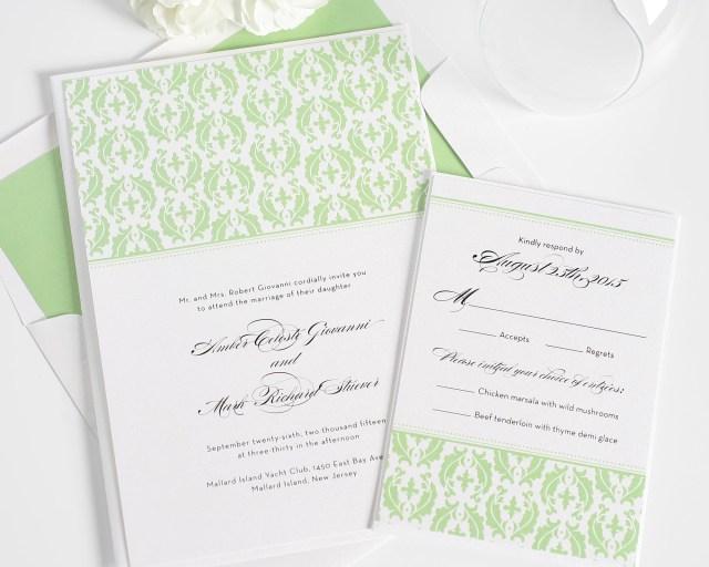 Damask Wedding Invitations Classic Damask Wedding Invitations Wedding Invitations Shine