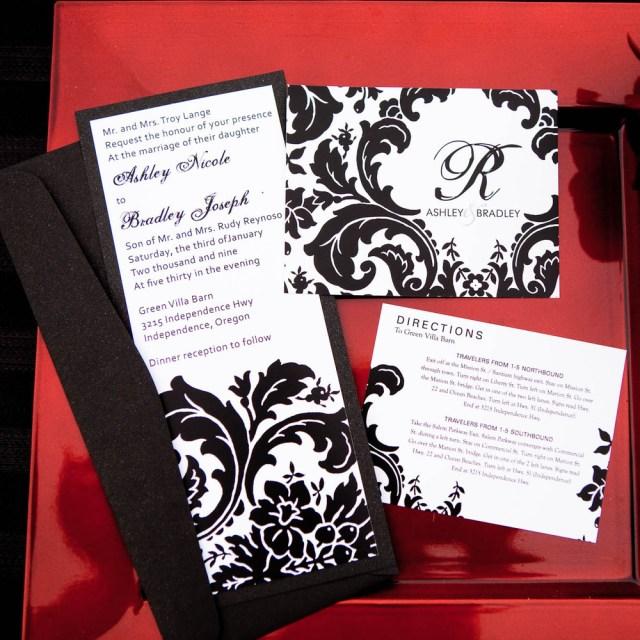 Damask Wedding Invitations Damask Wedding Invitations Damask Wedding Invitations In Addition To