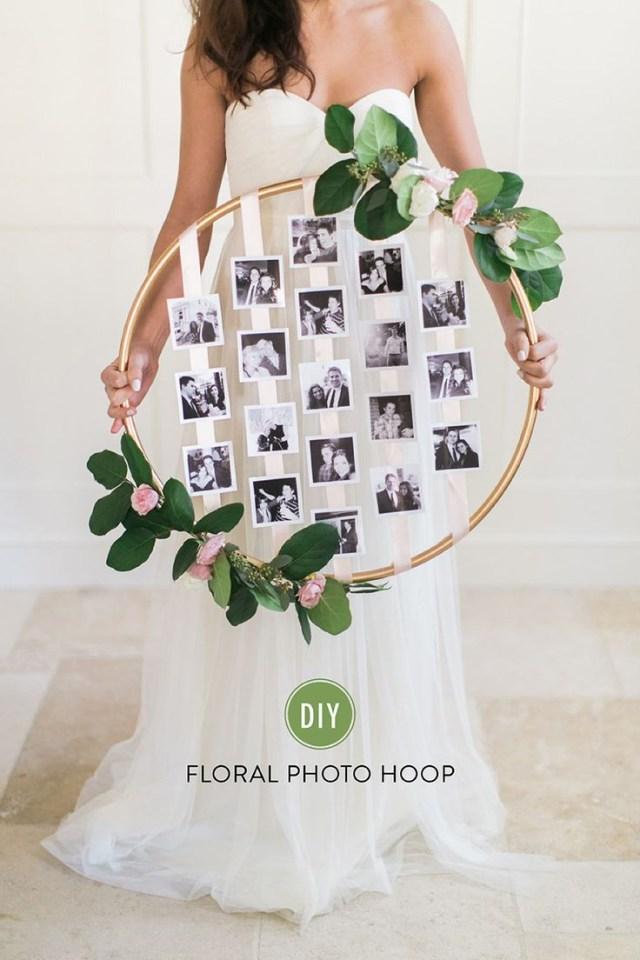 Decor Wedding Diy 26 Creative Diy Photo Display Wedding Decor Ideas Tulle