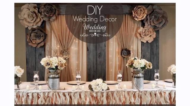 Decor Wedding Diy Wedding Decor 101 Sign Up For A Week Of Free Diy Tips Youtube