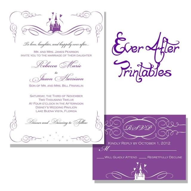 Disneyland Wedding Invitations Wedding Invitation Wording Wording Getting Hitched Disney