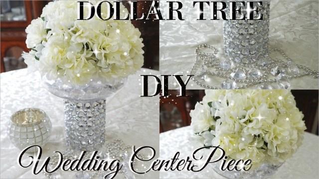 Diy Wedding Centerpiece Diy Dollar Tree Bling Floral Wedding Centerpiece 2017 Petalisbless