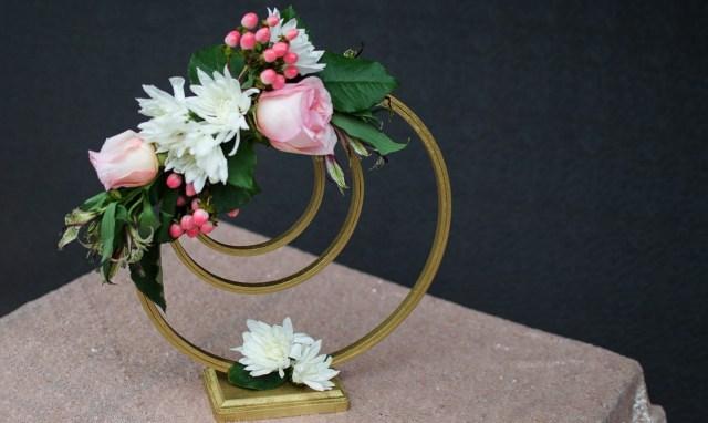 Diy Wedding Centerpiece Elegant Diy Wedding Centerpiece With Embroidery Hoops