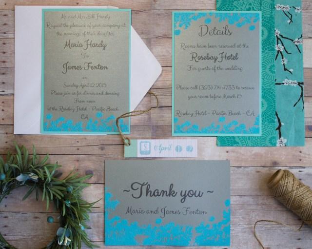 Diy Wedding Invitations Ideas Easy Diy Wedding Invitations