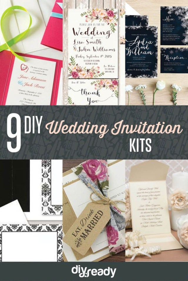 Diy Wedding Invitations Kits Custom Wedding Invitation Kits If I Ever Marry Again