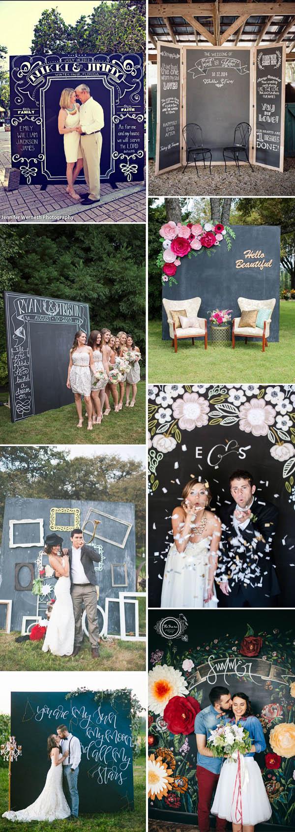 Diy Wedding Photobooth 40 Stealworthy Chalkboard Wedding Ideas Elegantweddinginvites Blog