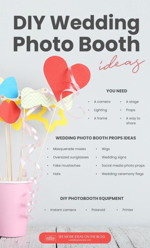Diy Wedding Photobooth Diy Photo Booth Best Tips For Creating Yours Wedding Forward