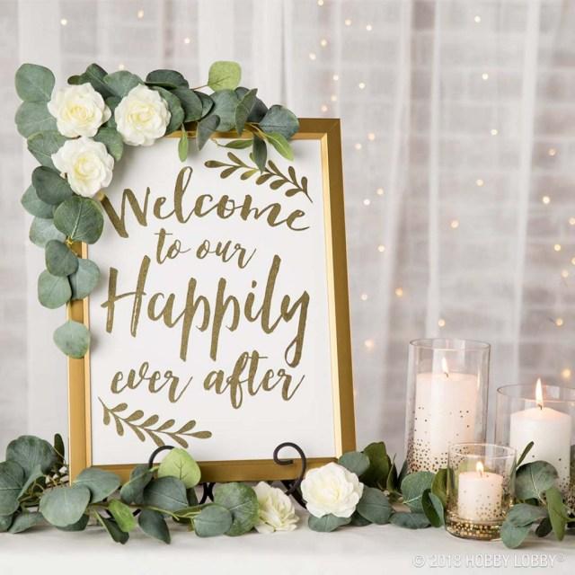 Diy Wedding Signs Stylish Wedding Details For The Diy Bride Hob Lob Blog