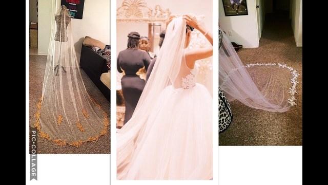 Diy Wedding Veil Make Your Own Chapel Length Veil Save Hundreds Wedding Diy