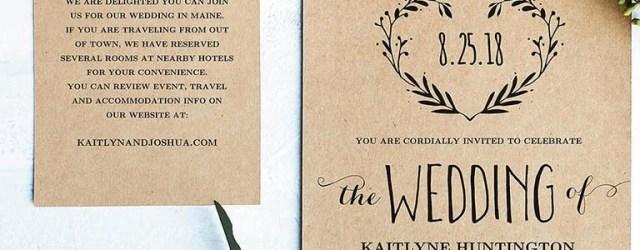 Do It Yourself Wedding Invitations Templates 16 Printable Wedding Invitation Templates You Can Diy Wedding