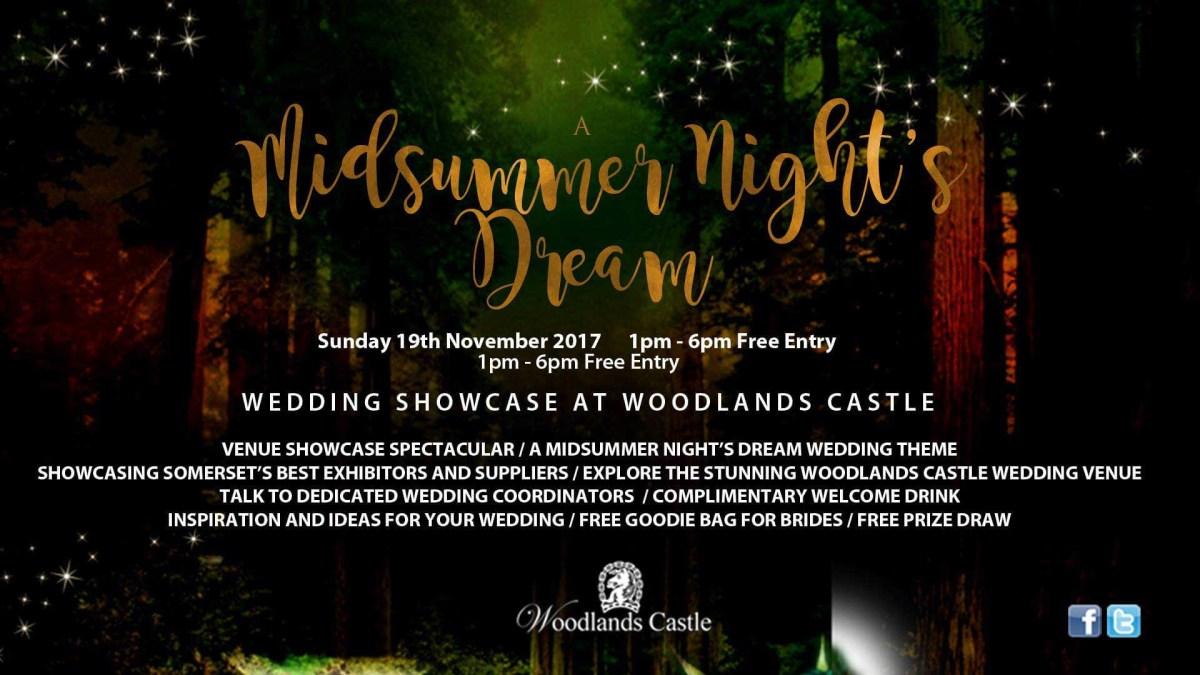 Dream Wedding Ideas A Midsummer Nights Dream Wedding Showcase Woodlands Castle