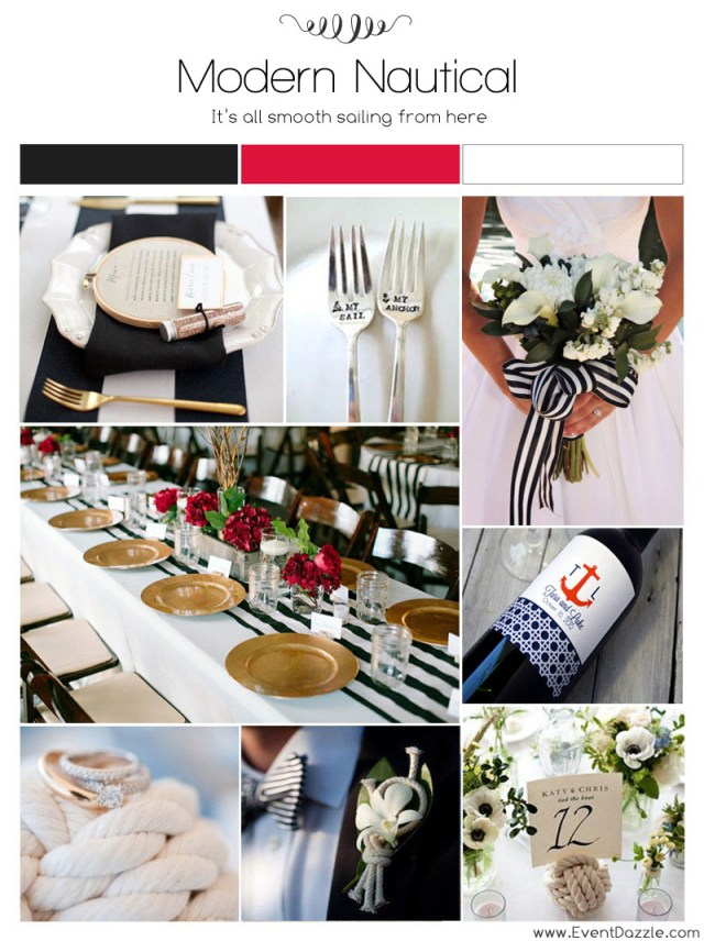 Dream Wedding Ideas Modern Nautical Wedding Ideas Dream Weddings Start Here