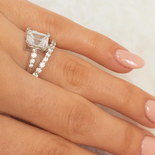 Engagement And Wedding Our Favourite Engagement Wedding Ring Pairings Cassandra Mamone