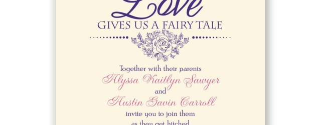 Fairytale Wedding Invitations Fairy Tale Love Invitation Invitations Dawn