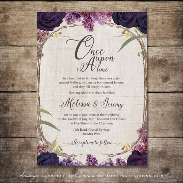 Fairytale Wedding Invitations Fairytale Wedding Invitations Beautiful Enchanted Forest Invitation