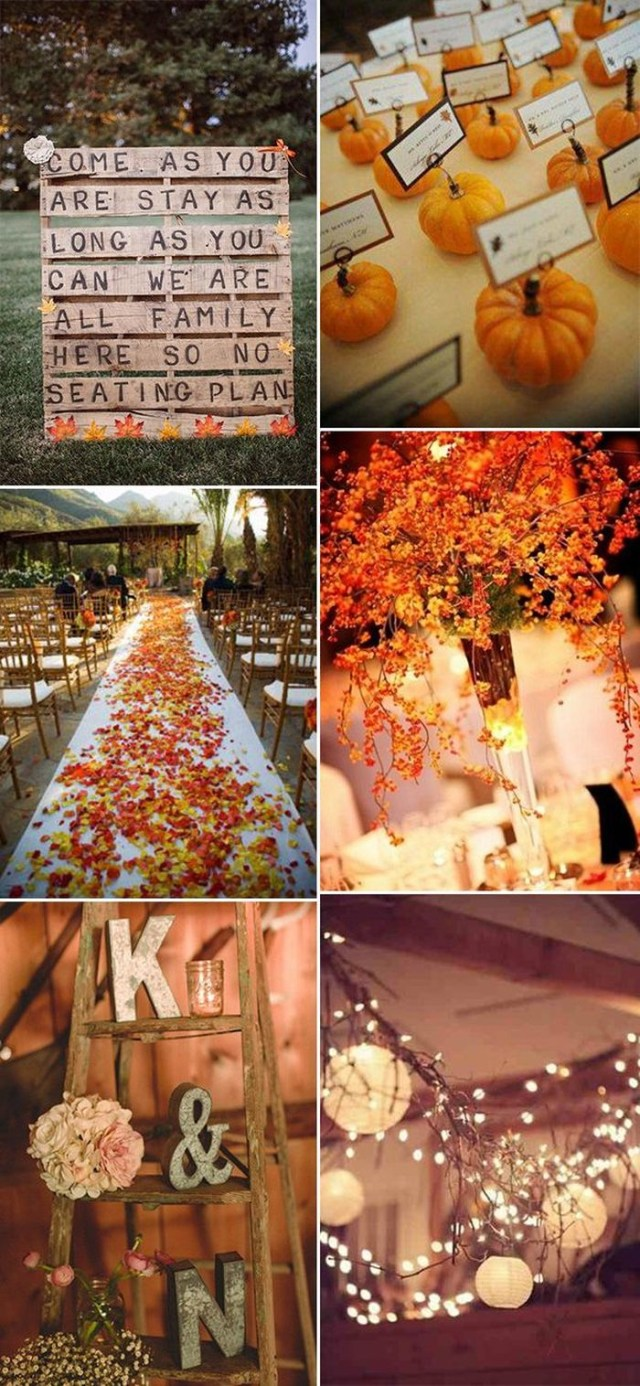 Fall Wedding Decoration Ideas 17 Fall Wedding Decoration Ideas 1 Pallet Sweet Table Bradpike
