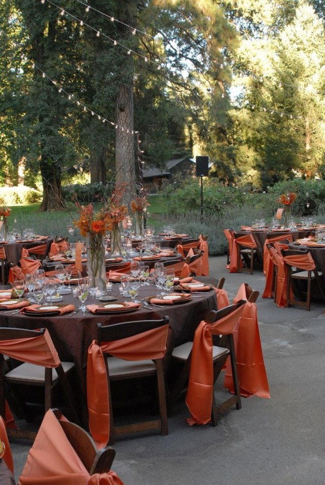 Fall Wedding Decoration Ideas 61 Awesome Outdoor Dcor Fall Wedding Ideas Weddingomania